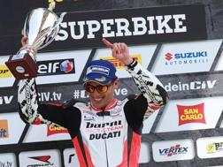 Michele Pirro, 29 anni, tester ufficiale Ducati in MotoGP