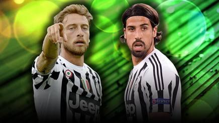 Juve, ecco Marchisio con Khedira: coppia al debutto