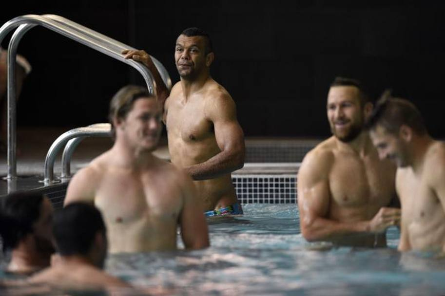 Kurtley Beale. Afp