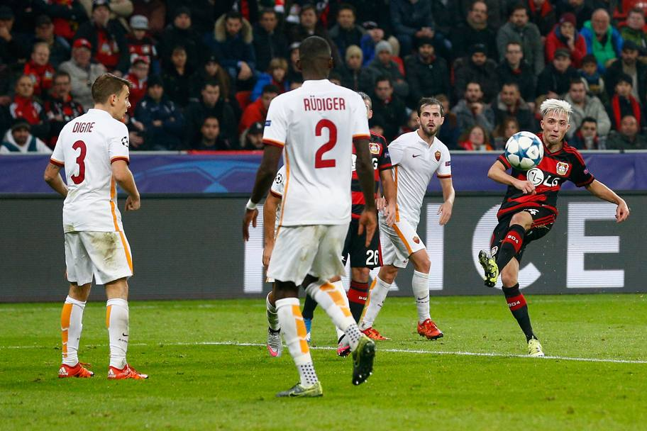 All'84' Kampl segna un gran gol da fuori area. Getty