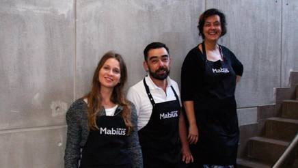 Andrei Ryvkin di Mabius, Valeria Opanasyuk di CheeseBox e Marianna Orlinkova di Our Porridge