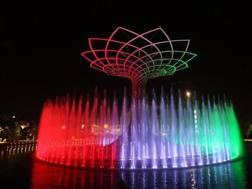 L'albero della vita dell'Expo. Ansa