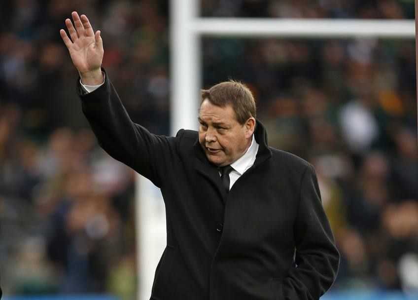 Il coach degli All Blacks Steve Hansen (Ap)