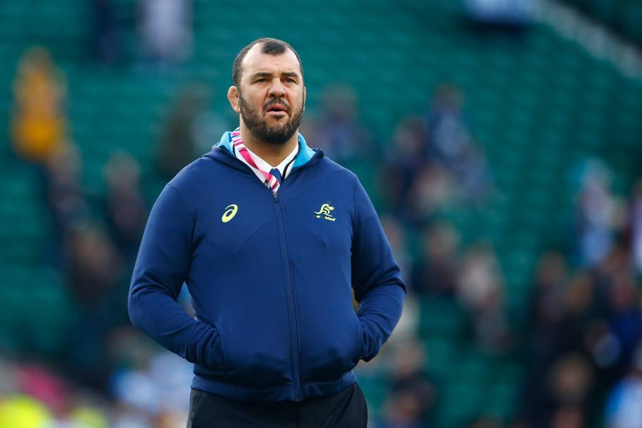L'allenatore dell'Australia, Michael Cheika (Getty Images)