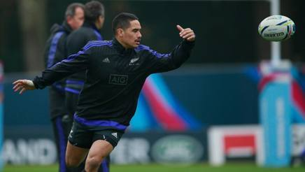 Aaron Smith in allenamento. Getty Images
