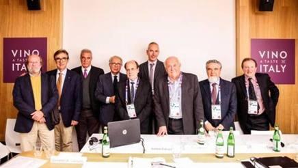 A Expo in una conferenza organizzata dal Comitato Grandi Cru d'Italia e il Comitato ministeriale per il padiglione del vino