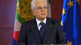 Il presidente della Repubblica Sergio Mattarella. Ominimilano