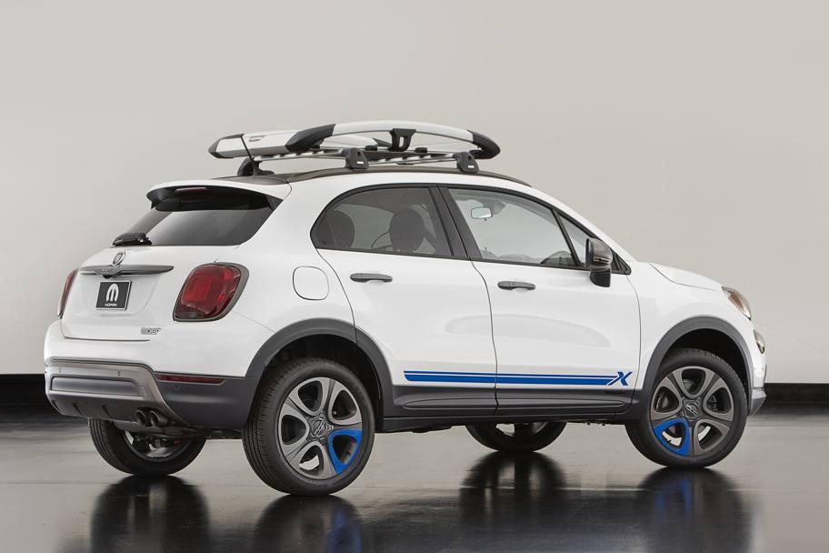 Fiat 500X Crossover >> Fiat 500X Mopar sportiva o da spiaggia