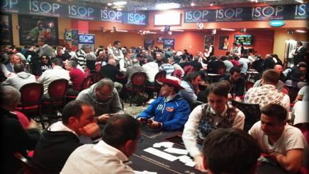 Uno scatto della terza tappa delle Italian Series of Poker