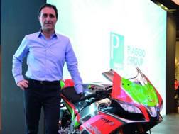 Romano Albesiano, 52 anni, responsabile Aprilia Racing dal 2013
