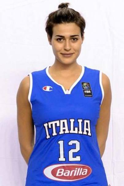 ... Alice Sabatini con la sua maglia numero 12 della Nazionale 536c17131214