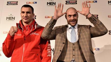 Boxe, sfida al regno di Klitschko: ci prova l'istrionico Fury
