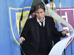 L'allenatore della Roma Rudi Garcia. Lapresse