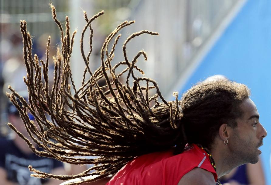 Il tedesco Dustin Brown. (Reuters)