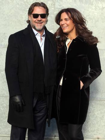 Ansa Russel Crowe con Roberta Armani. Ansa 18abd7c9f5b