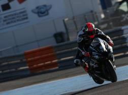 Tom Sykes in azione nei test di Jerez