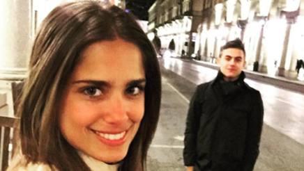 Antonella Cavalieri con Dybala in giro per Torino (Instagram)