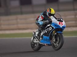 Alex De Angelis con la Ioda, che lo seguirà dalla MotoGP alla Superbike. Getty