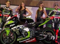 Rea e Sykes con la nuova Kawasaki Sbk