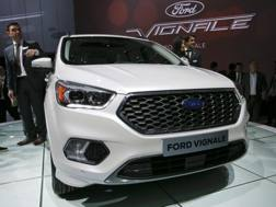 Vignale da padrone nell stand Ford a Ginevra. Reuters