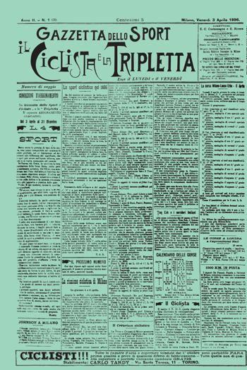 3 aprile in rosa: buon anniversario Gazzetta!