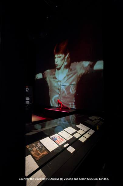 Courtesy the David Bowie Archive (c) Victoria and Albert Museum, London.