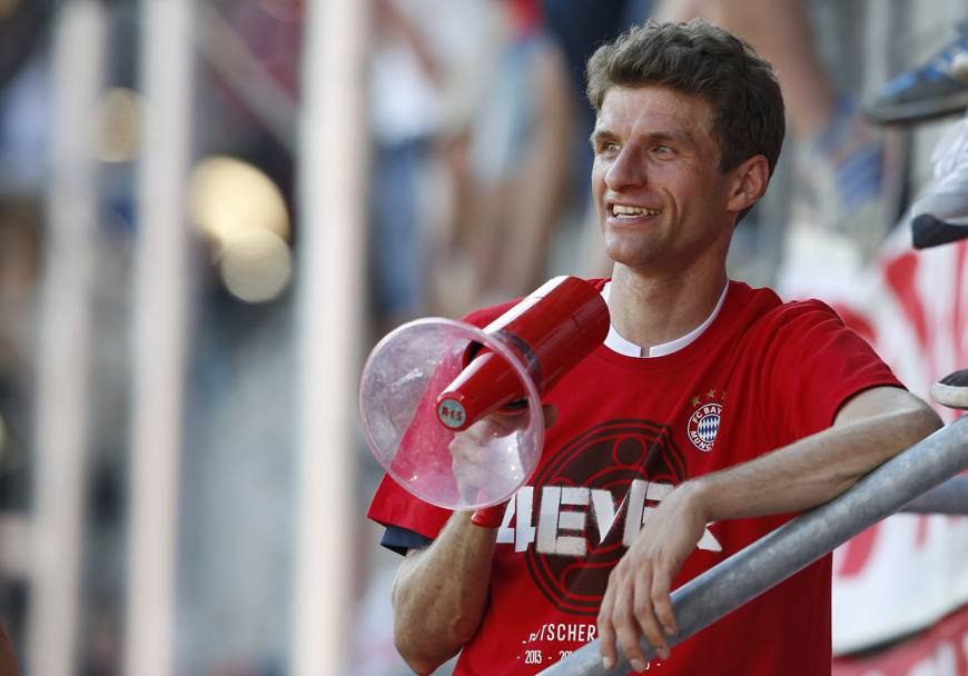 Thomas Muller., 26 anni. Reuters