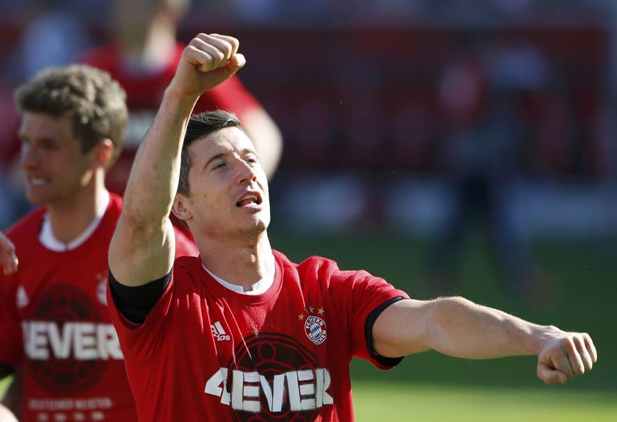 Robert Lewandowski. Reuters