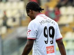 Jerry Uche Mbakogu, 23 anni, attaccante nigeriano del Carpi. Getty Images