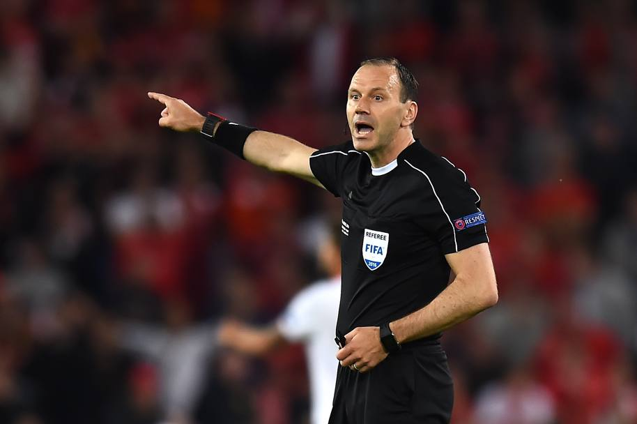 L'arbitro Jonas Eriksson. Getty