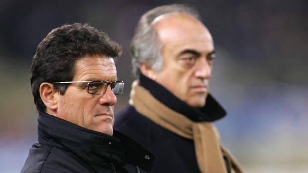 Capello con Antonio Giraudo ai tempi della Juve. Lapresse 3fdc8bf6bb75