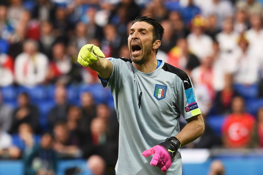 Gigi Buffon, capitano azzurro. Getty