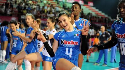 Volley, Grand Prix: a Bari cala il buio, si accendono le azzurre