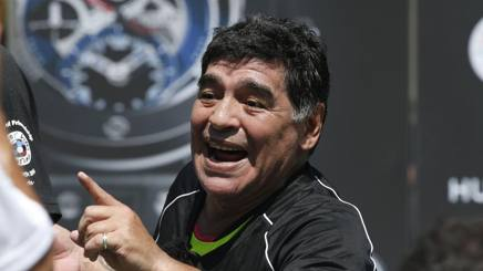 Diego Armando Maradona, 55 anni. Afp