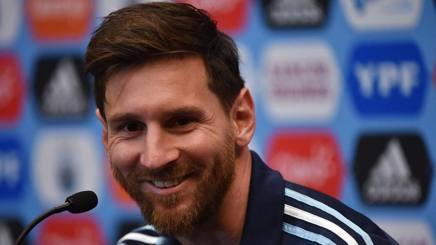 L'attaccante  dell'Argentina, Lionel Messi, 29 anni compiuti ieri. Afp