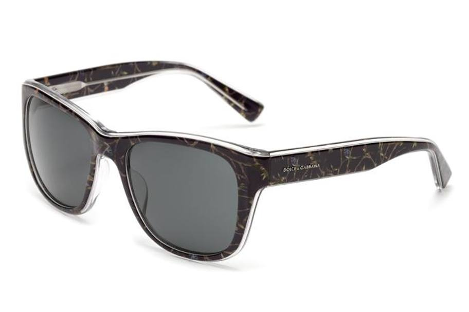 DOLCE & GABBANA EYEWEAR capsule collection in acetato black birds con lente grigia € 190