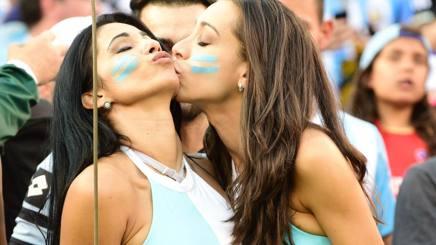 Tifose argentine. Afp