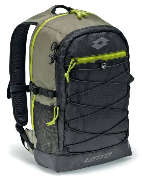 LOTTO backpack in tessuto tecnico multi tasche € 192