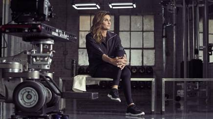 Caitlyn Jenner, 66 anni, nel backstage del video per H&M