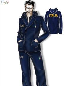 Sentimentale uomo daffari Sfavorevole  Olimpiadi: con Armani la medaglia dello stile è - La Gazzetta dello Sport
