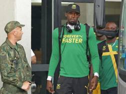 Usain Bolt, 29 anni. Afp