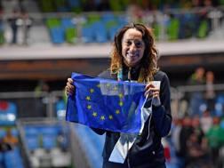 Elisa di Francisca, 33 anni, ha appena perso la sua finale. Reuters