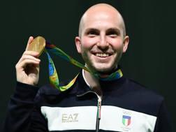 Niccolò Campriani, 28 anni. Ansa