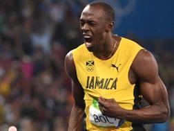 Usain Bolt, 30 anni domenica. Afp