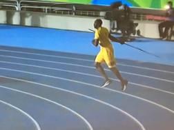 Bolt giavellottista notturno