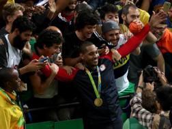 Carmelo Anthony, 32 anni, ha vinto 3 ori e un bronzo alle Olimpiadi. Getty