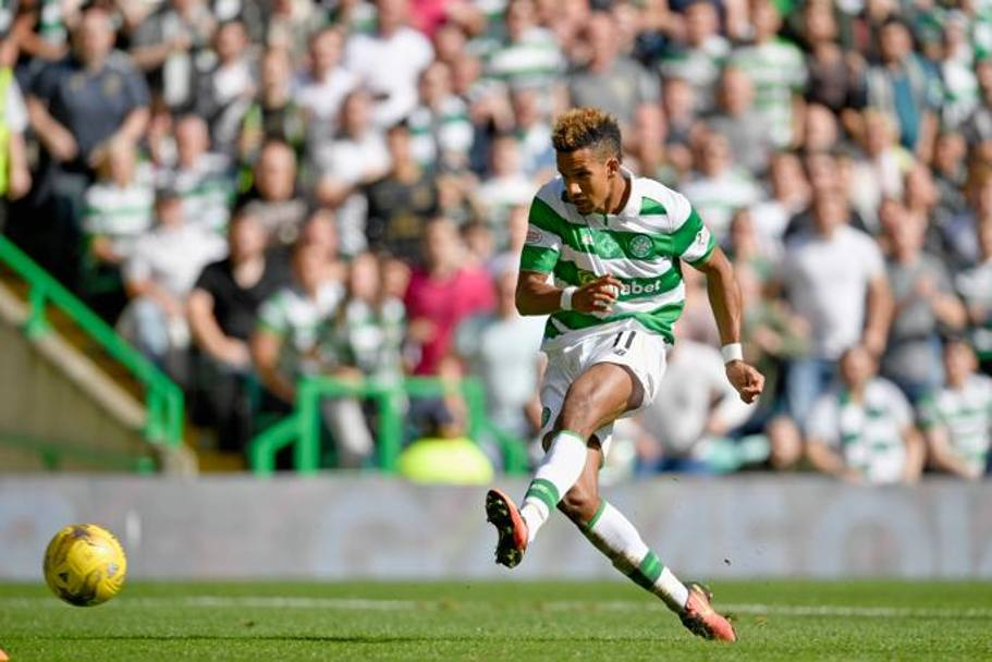 Scott Sinclair , 27 anni, firma la rete del momentaneo 3-1.GETTY IMAGES