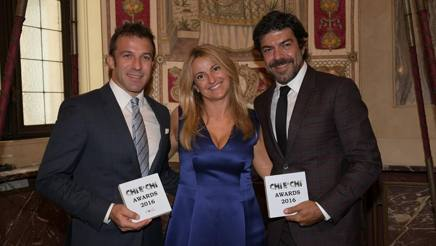 Alessandro Del Piero, Cristiana Schieppati, Pierfrancesco Favino