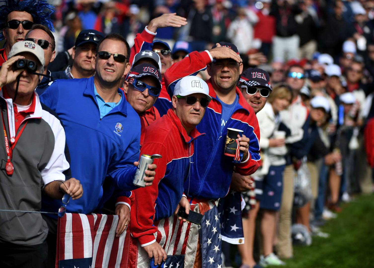 Europe win eight of the 12 singles Ryder Cup matches to beat the USA 1413 in Medinah having been 104 down