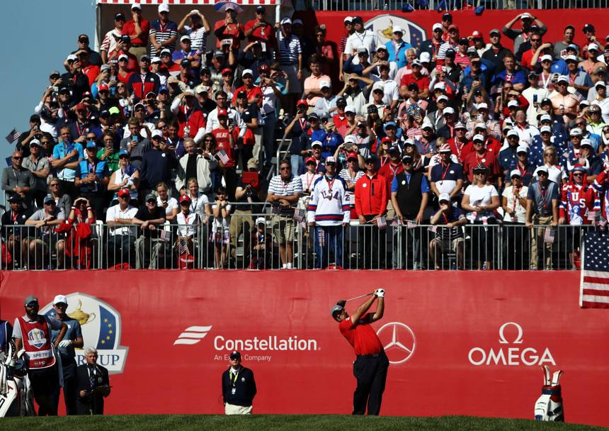 Patrick Reed del Team Usa AFP